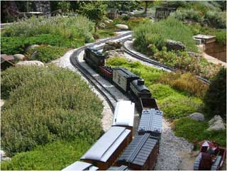 Battery Powered Wireless Control System For Garden Railroads
