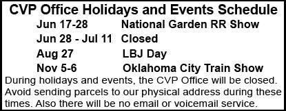 CVP Upcoming Holidays and Events