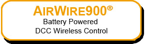 CVP AirWire Battery Powered DCC Wireless Control